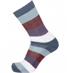 Block Striped 2 Pack Socks - moonlite ocean