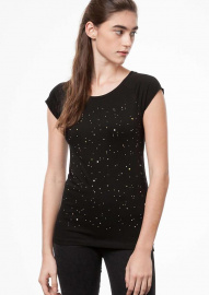 "T-Shirt ""Nightsky"" - noir"