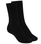 High Terry Sock, 2Pack - black