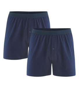 Boxer-Shorts, 2er-Pack - navy