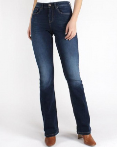 "Kuyichi Jeans ""Amy Bootcut"" (vegan) - herbal blue"
