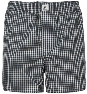 "Boxershorts ""Checked"" - black/white"