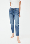 "Boyfriend Jeans ""Cajaa"" - light stone wash"