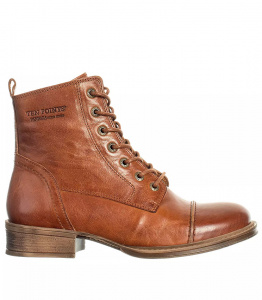 "Ten Points Stiefelette ""Pandora"" - cognac"