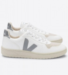 "Veja ""V-10 CWL"" (vegan) - white oxford grey"