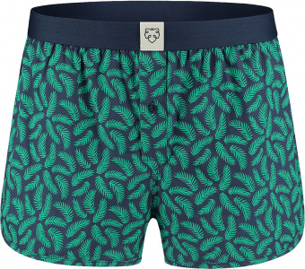 "Boxer-Short ""Mees"" - navy/green"