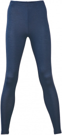 Women's Leggins wool / silk - navy
