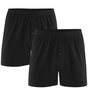 Boxer-Shorts, 2Pack - noir
