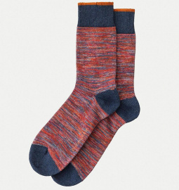 "Nudie Socken ""Rasmusson Multi Yarn"" - rot"