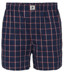 "Boxershorts ""Checked"" - navy/rot/weiß"