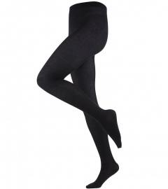 Woolen Tights - black