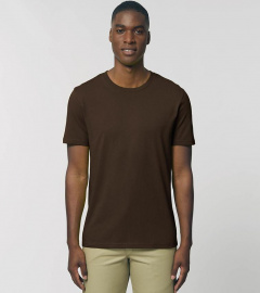 "T-Shirt ""Creator"" - deep chocolate"
