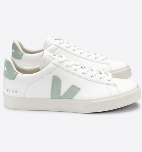 "Veja ""Campo Leather"" - extra white matcha"