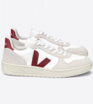 "Veja ""V-10 BMesh"" - white natural marsala"