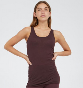 "Tanktop ""Beaa Customized"" - aubergine"