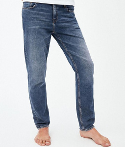 "Straight Jeans ""Dylaan"" (vegan) - used blue"
