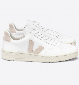 "Veja ""V-12 Leather"" - extra white sable"