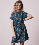 "Bleed EcoVero Dress ""Lakefly"" - blue"
