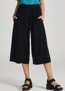 "Givn Tencel Pants ""Anna"" - black"