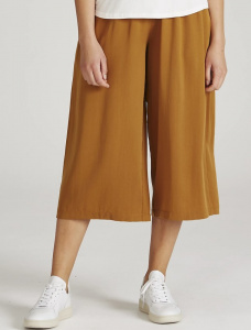 "Givn Tencel Pants ""Anna"" - rubber brown"