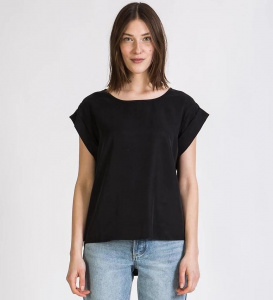 "Givn Tencel Top ""Capri"" - black"