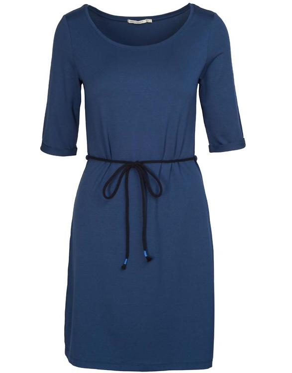 ARMEDANGELS · Kleid Chloe empire blue · fairtragen