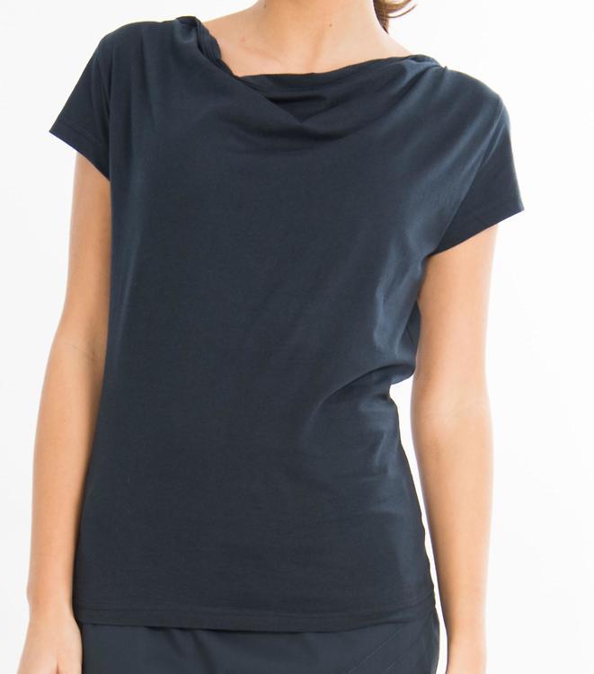 Skunkfunk - SKFK · Bat Women Basic T-Shirt - dunkelblau · fairtragen