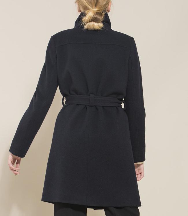 Mantel dunkelblau
