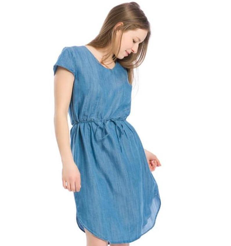 Kleid jeans hellblau