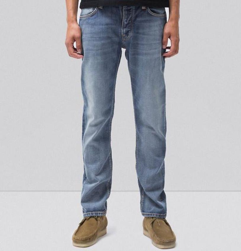 dcd5bac96a12 Nudie Jeans · Nudie Jeans Dude Dan (vegan) - steel indigo · fairtragen